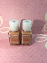 2 Neutrogena Skin Clearing Oil Free Makeup Natural Tan 100 - Outdated*** 1 Oz - $19.44