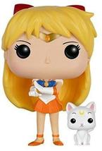 Funko POP Anime: Sailor Moon - Sailor Venus with Artemis Action Figure - $20.56