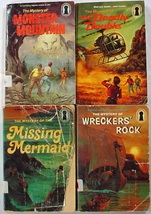 4 Three Investigators Monster Mountain Deadly Double Missing Mermaid Wre... - $12.00