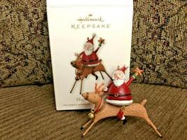Hallmark Keepsake Ornament High Flying Fun 2010 Metal ornament - $9.49