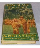 Tom Slade Boy Scout of the Moving Pictures1915 HC DJ First in Series - $24.95