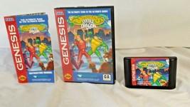 Sega Genesis Battletoads Double Dragon Complete In Box CIB Ultimate Team Game  - $68.95