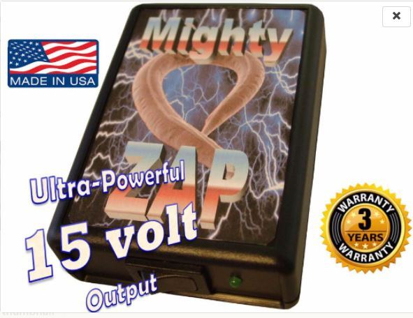 Mighty Zap Hi-Power 15 Volt 2 Frequency and 50 similar items