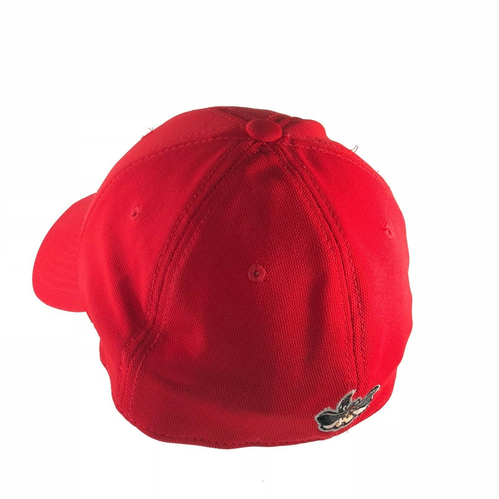 UNLV Rebels University Of Las Vegas 90s Hat Cap Fitted One Size Men Red Stretch image 6