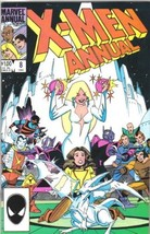 The Uncanny X-Men Annual Comic Book #8 Marvel 1984 FINE+ - $3.75