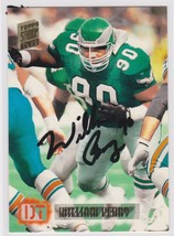 William 'The Refrigerator' Perry Signed Autographed Football Card - Phil... - $14.99