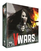 V Wars Board Game A Game of Blood and Betrayal Vampires IDW Games IDW00923 - $29.98