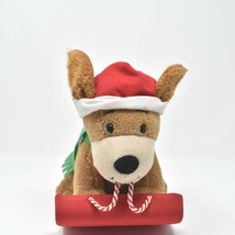 """Hallmark Rockin' Rover 9"""" Rocks To Jingle Bells With Tags #2 See Video - $24.74"""