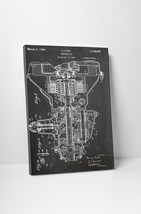 Car Transmission Patent Print Gallery Wrapped Canvas Print. BONUS WALL DECAL! - $44.50+
