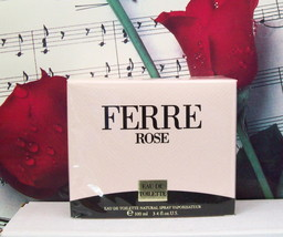 Ferre Rose By Gianfranco Ferre EDT Spray 3.4 FL. OZ. NWB - $79.99