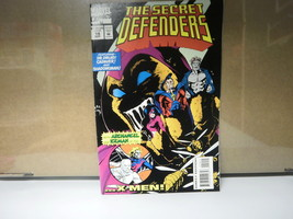 L3 MARVEL COMIC THE SECRET DEFENDERS ISSUE 19 SEPTEMBER 1994 IN GOOD CON... - $3.75