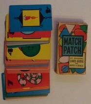 Vintage ARRCO Children Creative Playing Card Game: Match Patch - $9.90