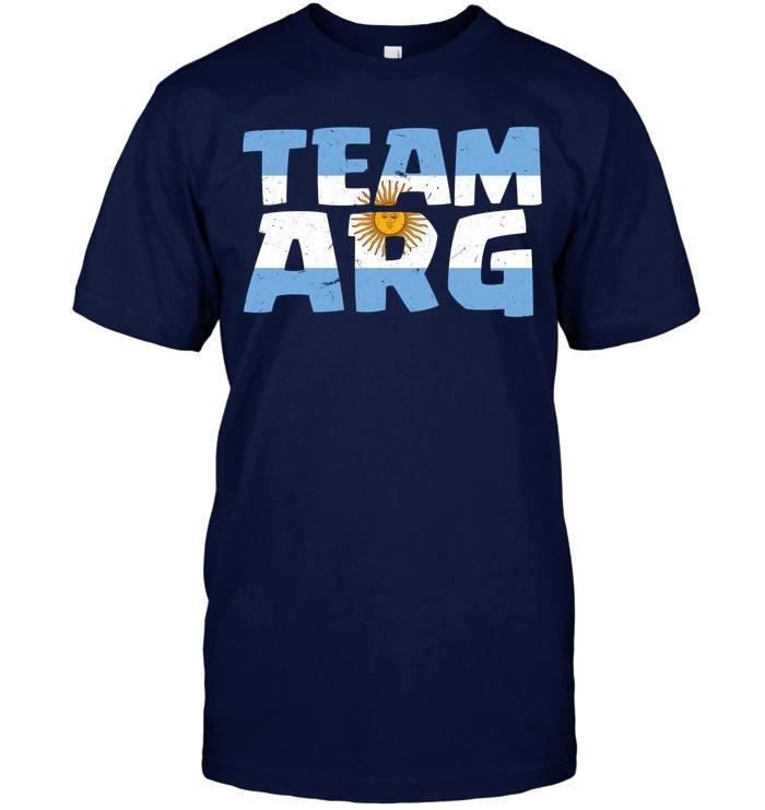 Argentina Team 2018 Champions Tshirt