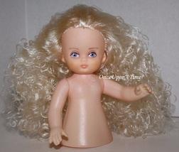 "Ariel, Fibre Craft 5-1/2"" Long Curly Blonde Hair Girl Air Freshener Doll 3055-01 - $8.95"