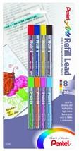 Pentel Arts 8 Colour Refill Lead, Assorted Colors, 8 Pack CH2BP8M - $11.96