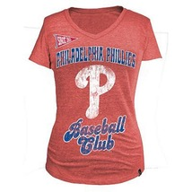 MLB Woman's Phillies Club Short Sleeve Tee L  - $15.99