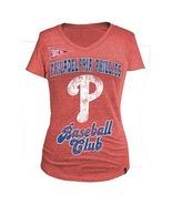 MLB Woman's Phillies Club Short Sleeve Tee L  - $15.99