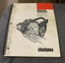 Shindaiwa 300,360,377,488,575,680,757 etc Bound Chainsaw Service Manual ... - $36.45
