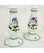 Portmeirion Botanic Garden Candlesticks - Candle Sticks for Tapers - 7 1... - $35.64
