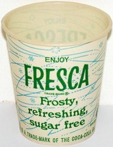 Vintage paper cup FRESCA by Coca Cola 4oz Free Sample new old stock n-mi... - $8.09