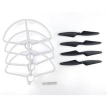 Hubsan H501S H501C RC Quadcopter Sapre Parts CW/CCW Propellers & Protection Cove - $18.60