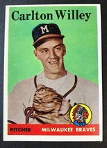 1958 Topps #414 Sammy White Boston Red Sox Baseball Card - $5.89