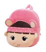 Cartoon Preschool Bag Plush Backpack Toddler Kids School Backpack, Pink ... - $19.87