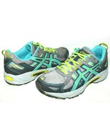 ❤️ ASICS Gel Venture 5 Gris Turquoise Chaussures Course 7.5 M Clean Exce... - $40.65