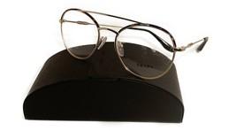 Prada Women's Gold Metal Glasses with case VPR 55U 2AU-1O1 51mm - $185.99