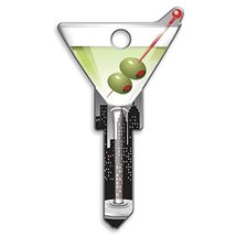 Lucky Line Key Shapes, Martini, House Key Blank, SC1, 1 Key B133S image 11