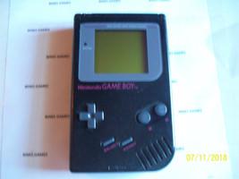 Original Nintendo Gameboy Handheld DMG-01 System BLACK - NEW SCREEN COVER  - $69.98