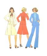 1970s Vintage Simplicity Sewing Pattern 7672 Misses Jacket Pantskirt Pan... - $6.95