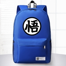 Dragon Ball Orange Shoulder School Bag Backpack Blue - $59.90