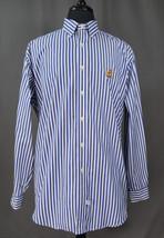 Ralph Lauren Long Sleeve Button Down Striped Dress Shirt Large Office, Work - $19.95