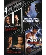4 Film Favorites: Demolition Man, Over The Top, Specialist, Tango & Cash... - $3.95