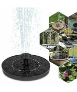 New Solar Power Water Fountain Pump Solar Fontein Bird Fountain Water Fl... - $35.99