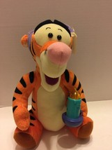 """Tigger The Tiger""  1998 Plush Disney Lighted Candle From Winnie The Pooh - $8.59"
