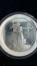 1 oz Silver Round - Saint Gaudens Liberty Eagle Design - $40.00