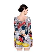 Mickey Mouse Disney   Long Sleeve Bodycon Dress - $18.99+