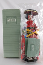 Avon International Porcelain Doll Collection Masako from Japan NIB 1991 - $19.00