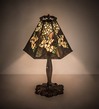 "19"" High Oriental Peony Accent Lamp - $747.00"