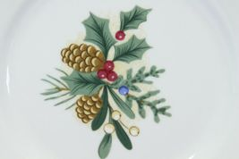 Fairfield Wintergreen Plates and Bowls Lot of 15  Christmas image 10