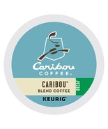 Caribou DECAF Blend Coffee 24 to 96 Keurig K cups Pick Any Size FREE SHI... - $19.99+