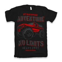 No Limits Shirt T Mens Pride car garage retro vintage 4x4 black - $12.78+