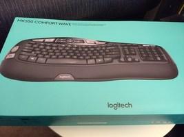 Logitech MK550 Comfort Wave Wireless Keyboard Combo - $40.00
