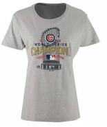 Large Chicago Cubs MLB Womens 2016 World Series Championship Locker L TS... - $12.67
