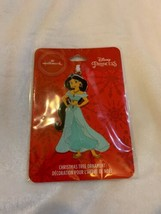 Hallmark Disney Princess Jasmine Aladdin Christmas Tree Ornament Metal New - $12.00