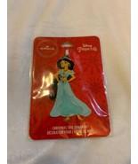 Hallmark Disney Princess Jasmine Aladdin Christmas Tree Ornament Metal New - $12.00