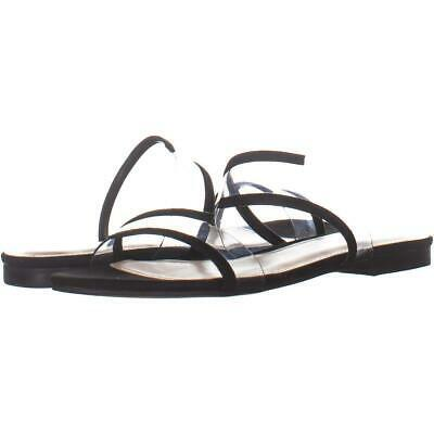 Primary image for Marc Fisher Calin2 Double Strap Sandals 413, Black, 7 US