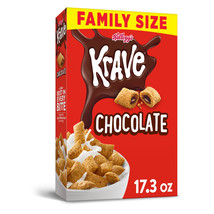 Kellogg's Krave Breakfast Cereal Chocolate Family Size 17.3 Oz - $15.89